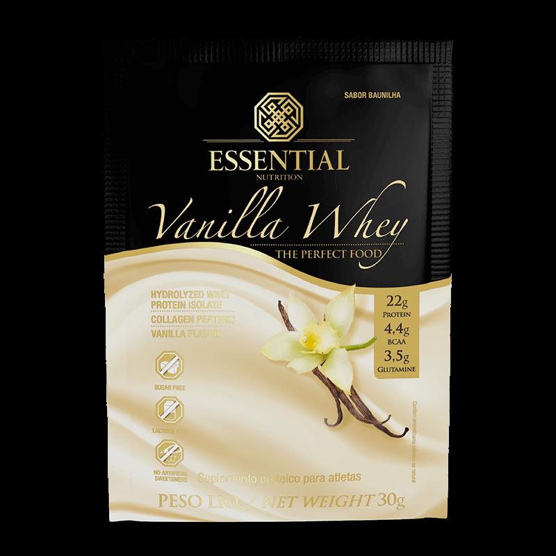 Vanilla Whey Sachê 30g - Essential Nutrition