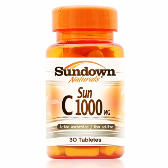Vit c 1000mg - 30 comprimidos - Sundown