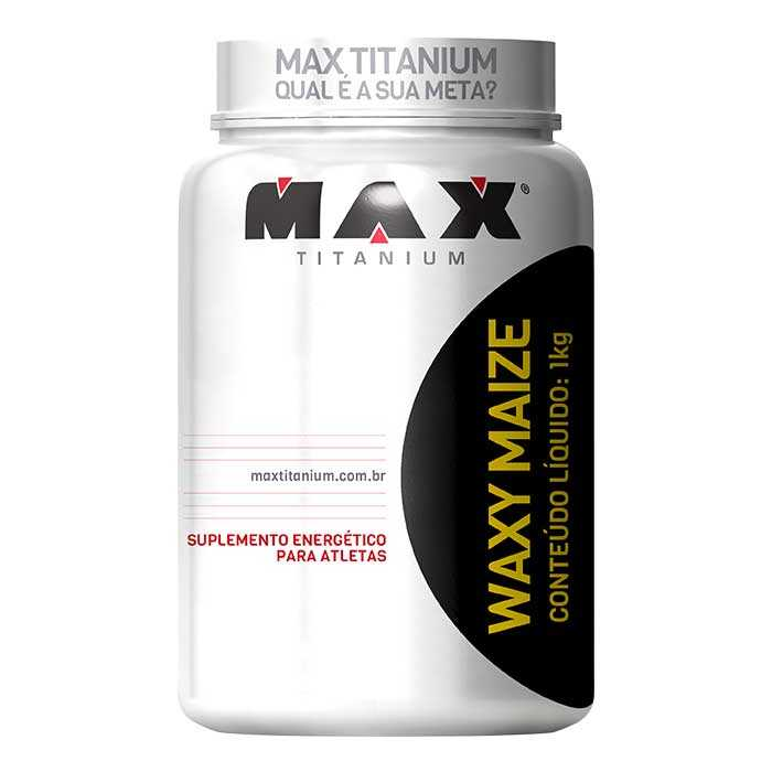 Waxy Maize - 1000g - Max Titanium