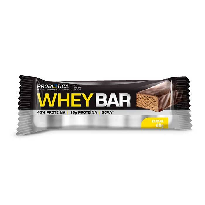 Whey Bar - 24 Unidades - Probiótica