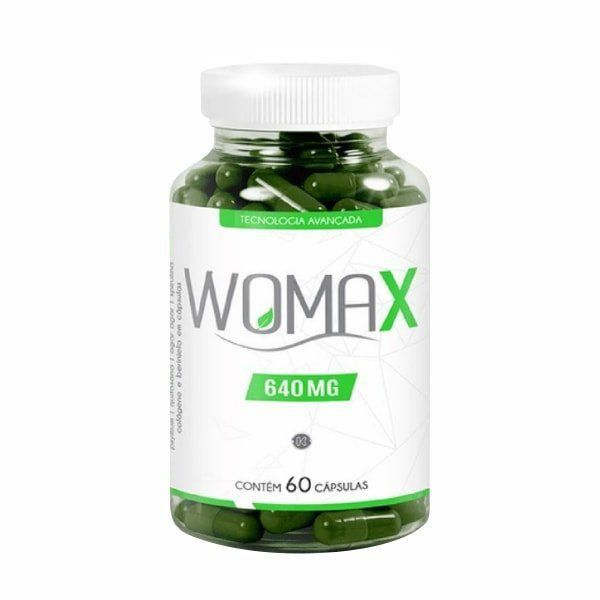 WOMAX 640mg - 60 cápsulas
