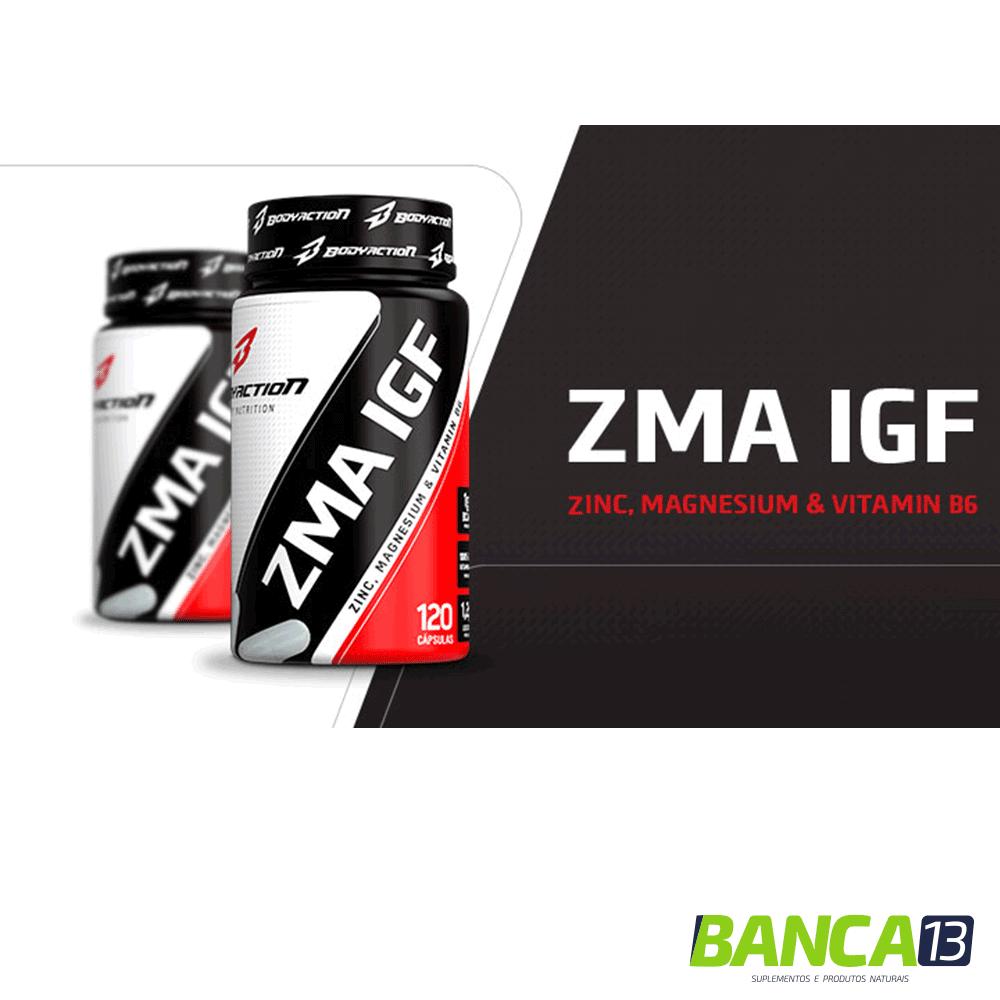 ZMA - 120 cápsulas - BodyAction
