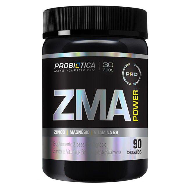 ZMA Power 90 cápsulas – Probiótica