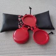 CASTANHOLA INICIANTE fibra vermelha espanhola flamenco Filigrana