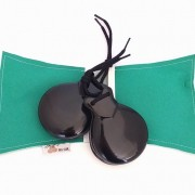 CASTANHOLA SEMIPROFISSIONAL Del Sur fibra espanhola n04 média (par) flamenco estojo verde