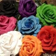 FLOR FLAMENCA tecido 15cm várias cores