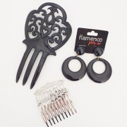 KIT FLAMENCO Amo Madrid - 021 preto