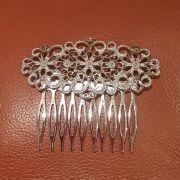 PEINECILLO metal arabesco flor flamenco