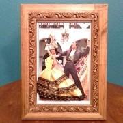 QUADRO flamenco vestido amarelo