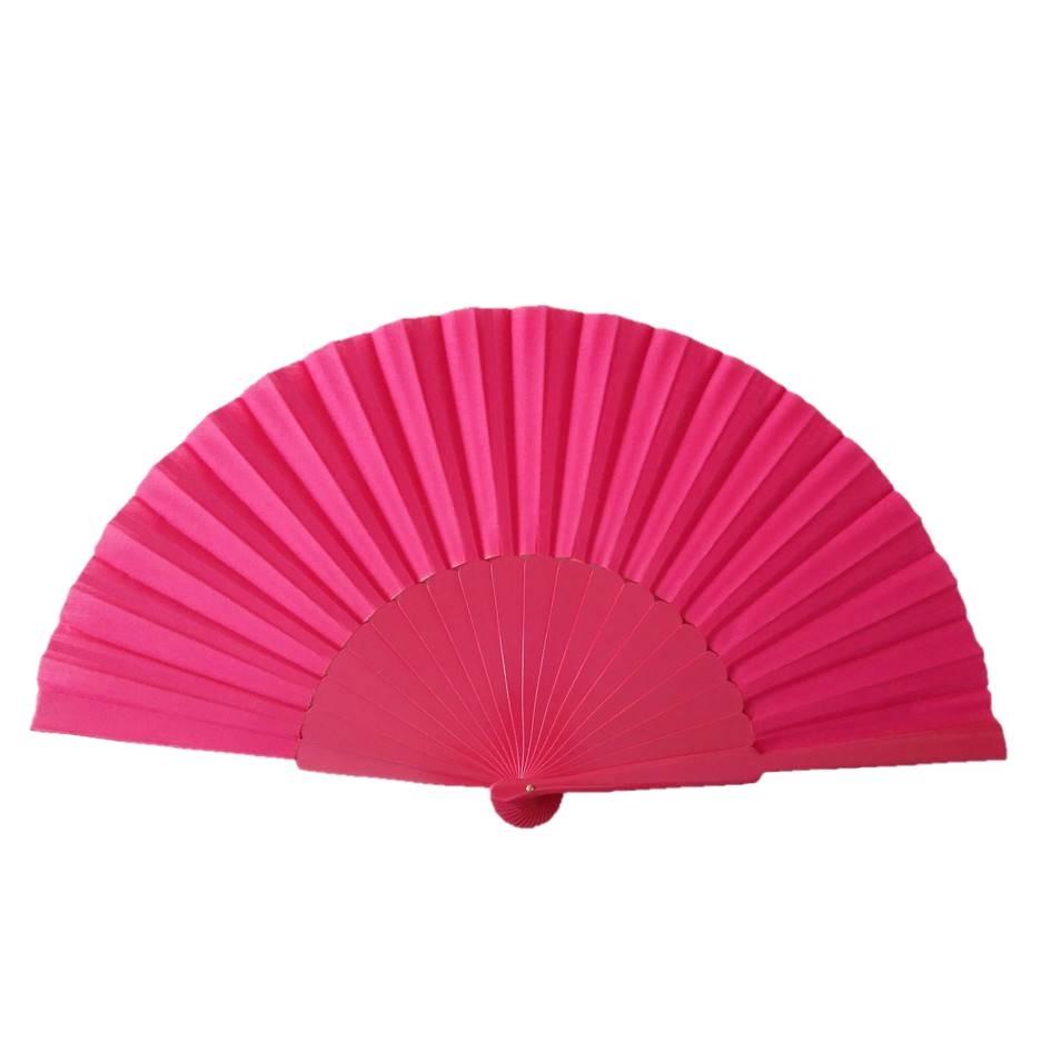 ABANICO PERICÓN 30cm leque flamenco grande várias cores