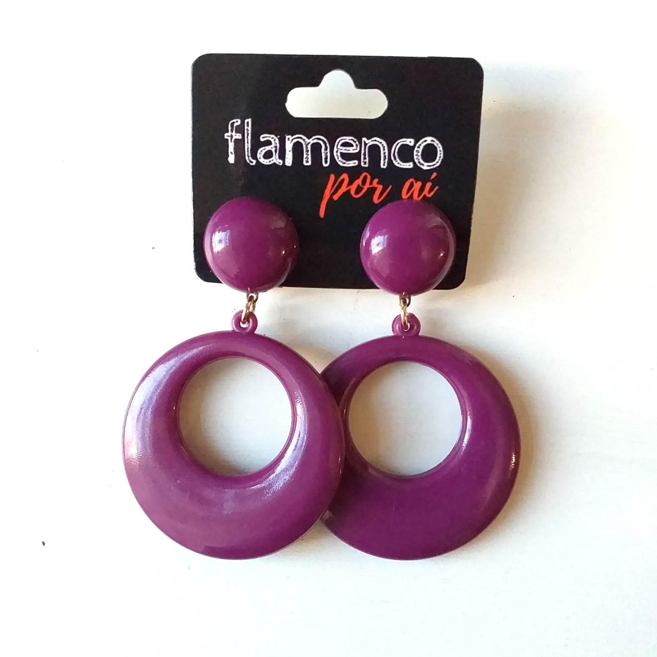 BRINCO espanhol flamenco argola 4,5cm