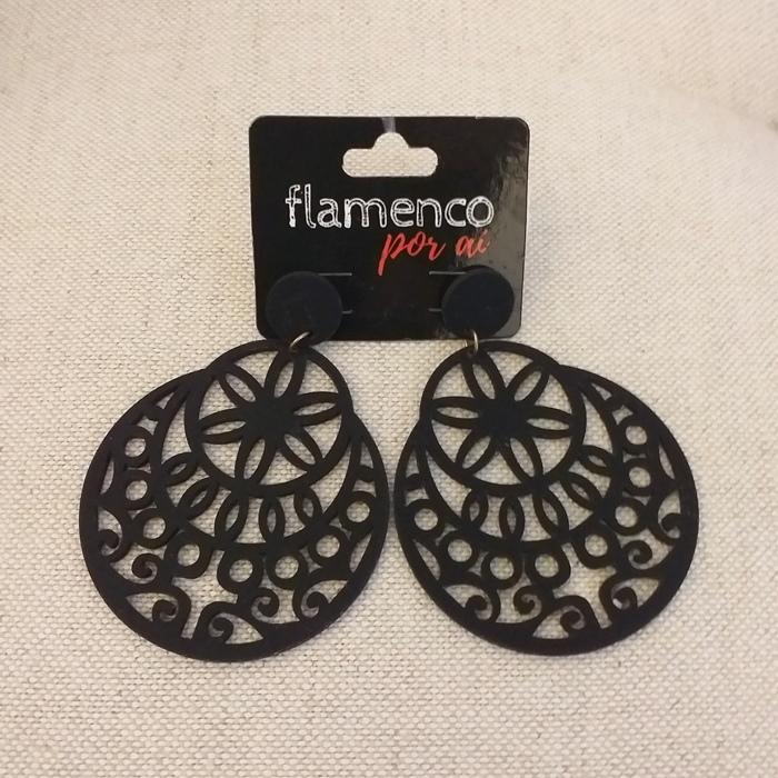 BRINCO flamenco leque 7,5x4cm