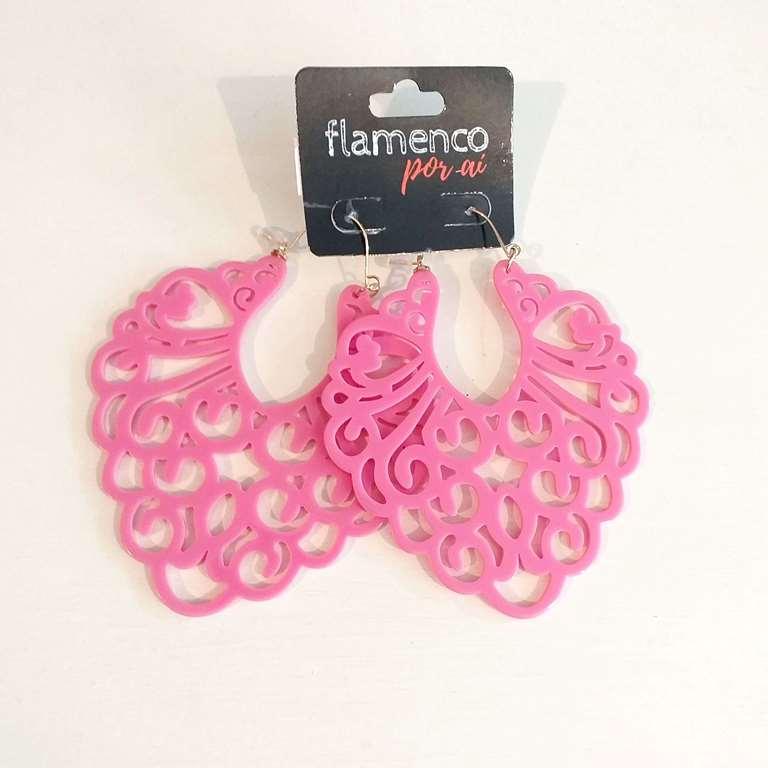 BRINCO flamenco leve mega 9cm