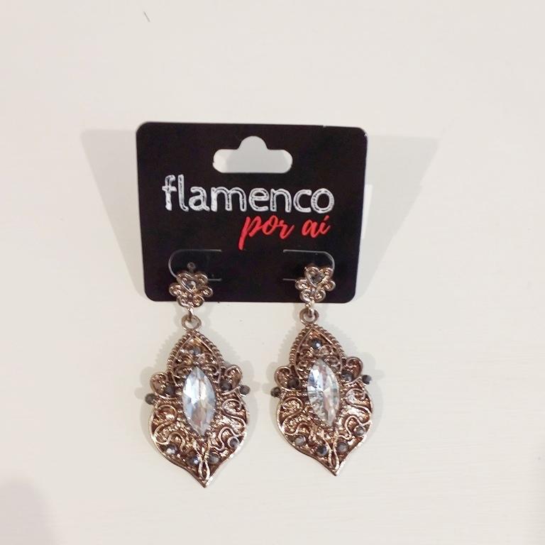 BRINCO flamenco vintage 2,5x3,5cm