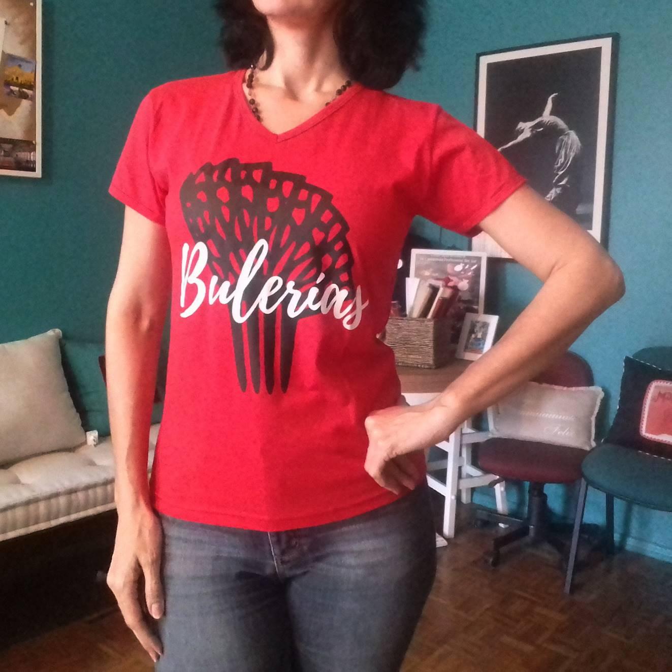 CAMISETA baby look flamenco Bulerías
