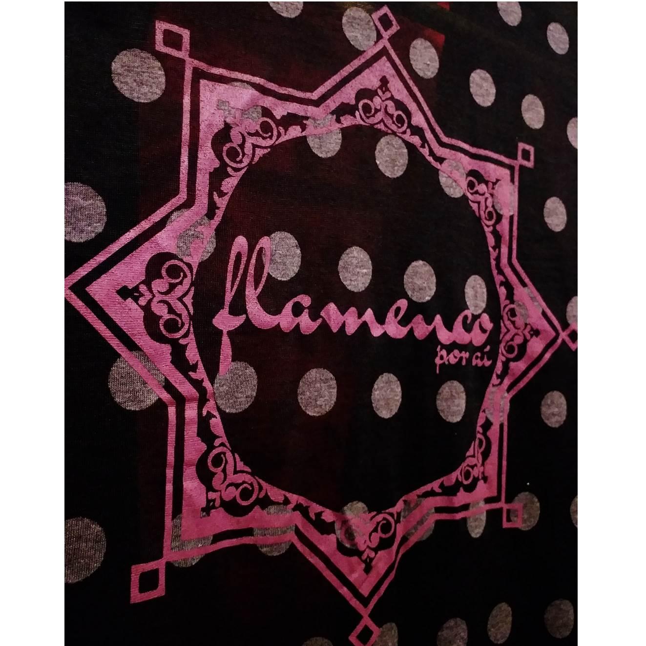 CARDIGAN lunares estrella flamenca