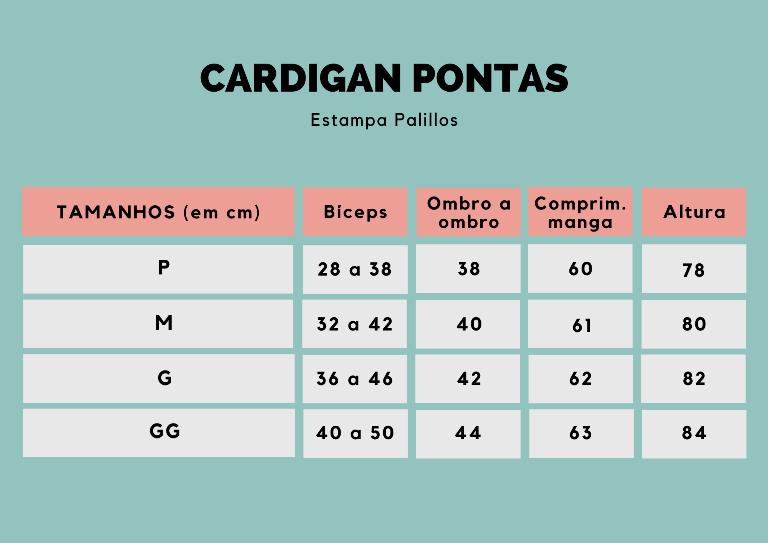 CARDIGAN palillos flamenco mostarda