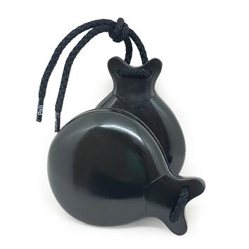 CASTANHOLA INICIAÇÃO caixa dupla fibra preta flamenco Pali