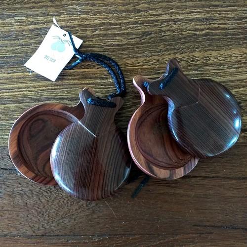 CASTANHOLA PROFISSIONAL madeira granadillo Del Sur flamenco