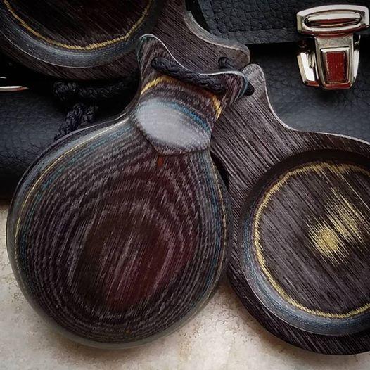 CASTANHOLA PROFISSIONAL madeira gris veteada flamenco Del Sur
