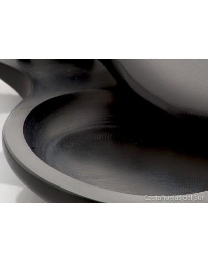 CASTANHOLA PROFISSIONAL tela negra Del Sur flamenco