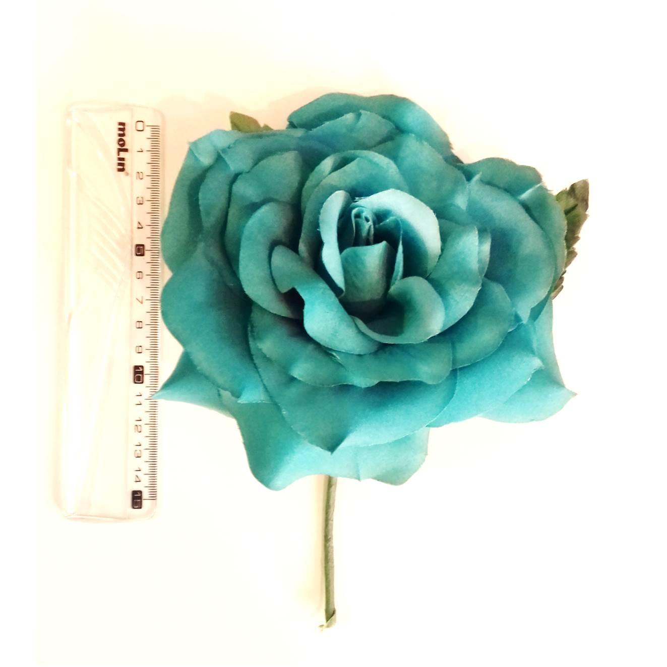 FLOR FLAMENCA espanhola tecido 15cm várias cores