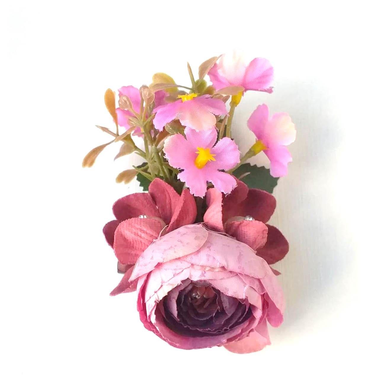 FLOR presilha flores pequenas flamenco