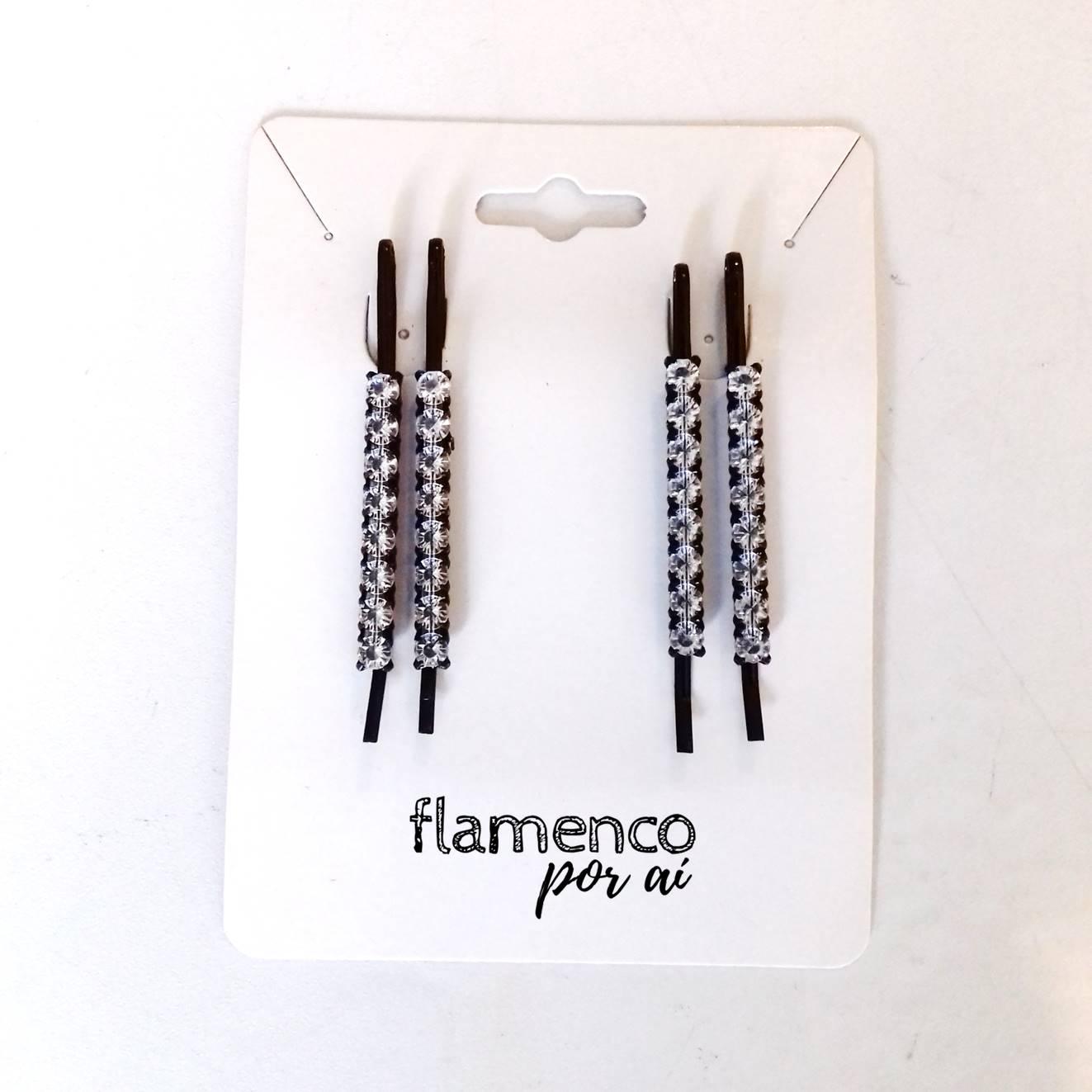 GRAMPOS strass cabelo flamenco