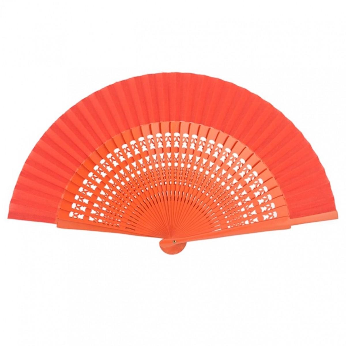 ABANICO 23cm - leque médio desenho vazado dança flamenca e cigana várias cores