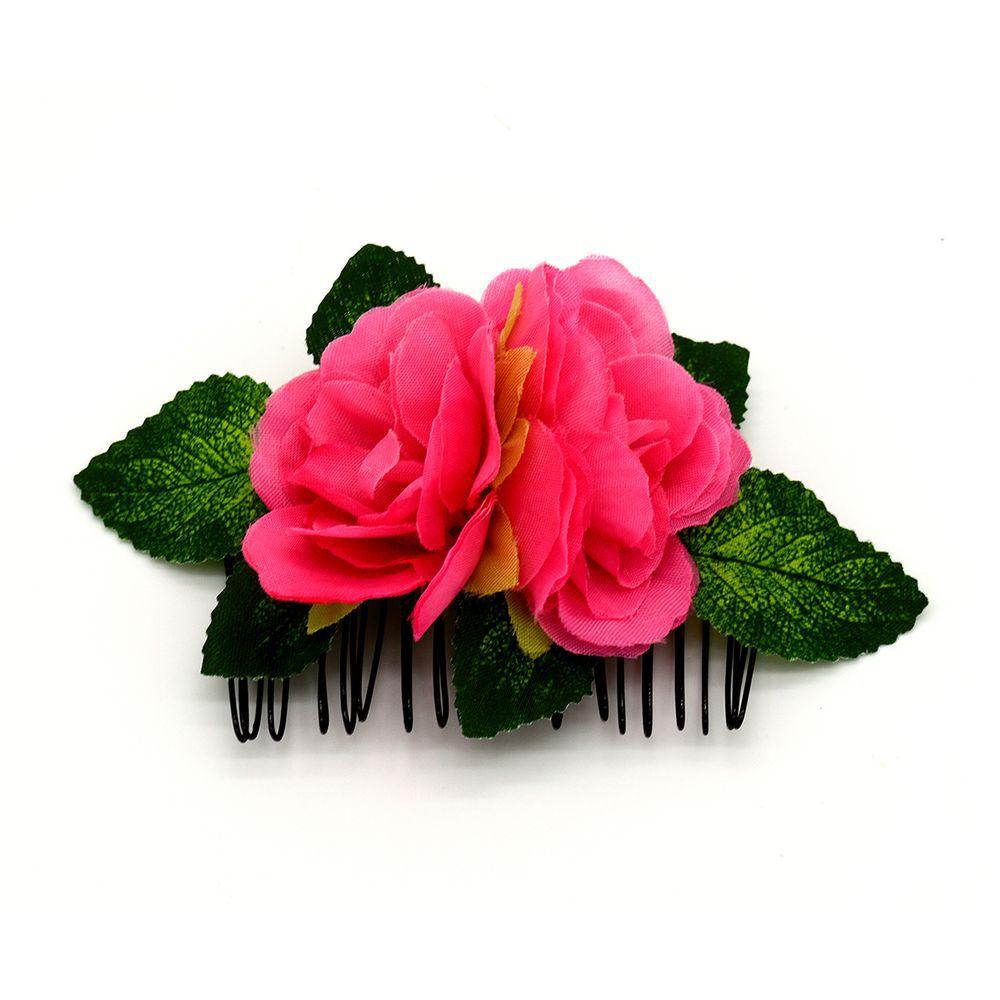 PENTE flamenco com flores