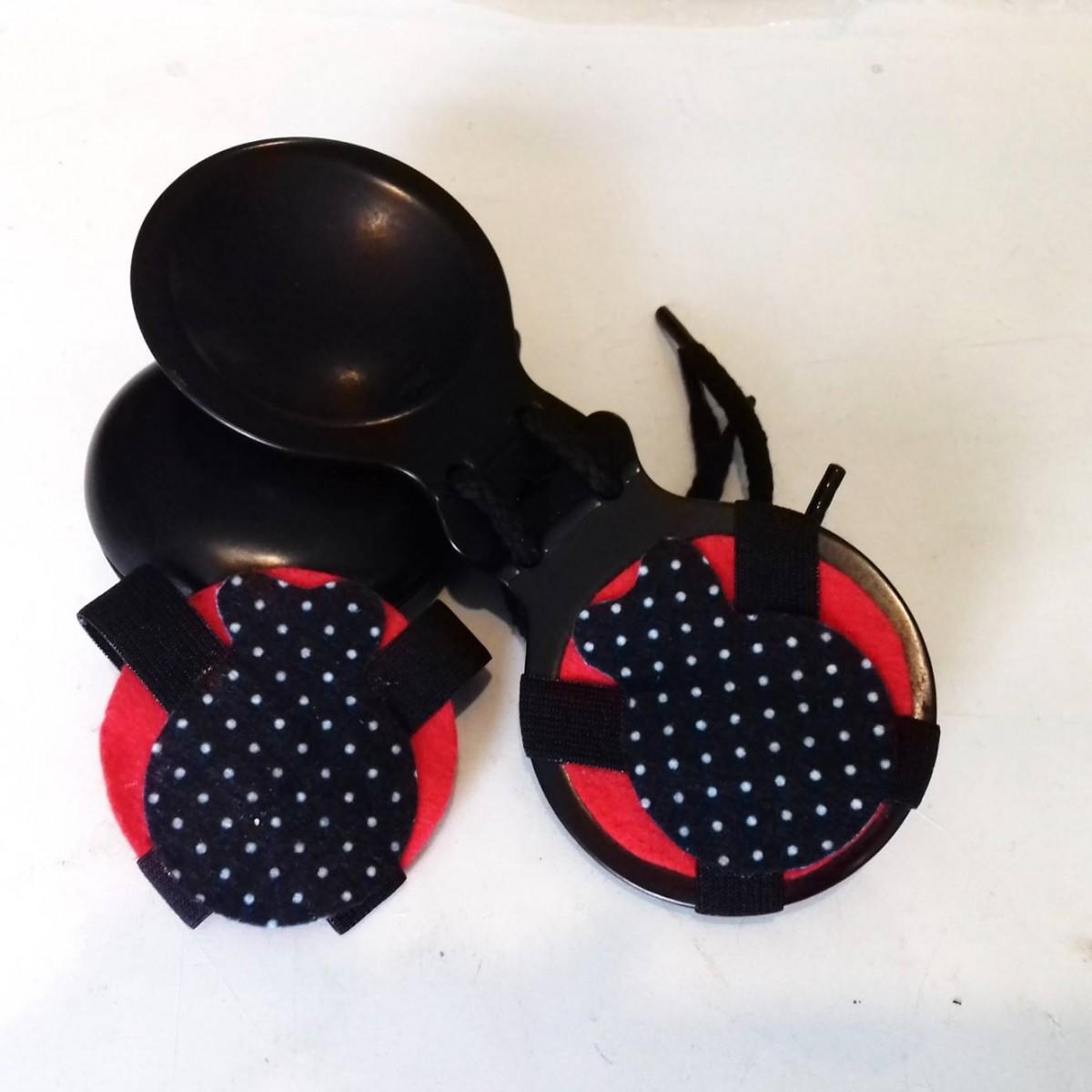 SURDINA de castanholas flamenco abafador som