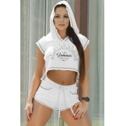 SHORTS OXYFIT SUNBEAM BRANCO