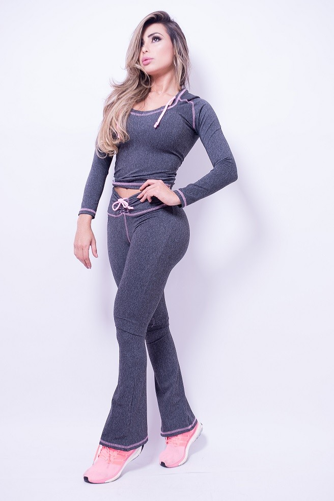 CONJUNTO BARBIE GIRL (LEGGING E BLUSA)
