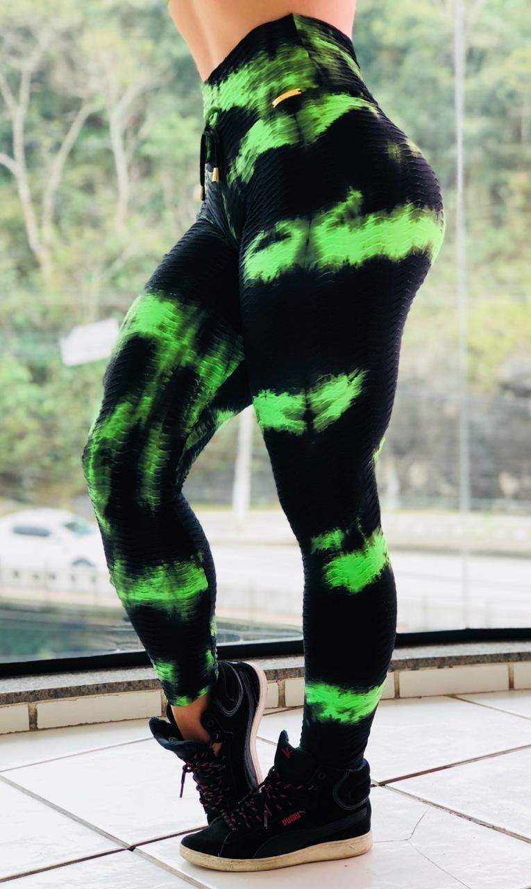 LEGGING EMPINA BUMBUM GREEN NEON