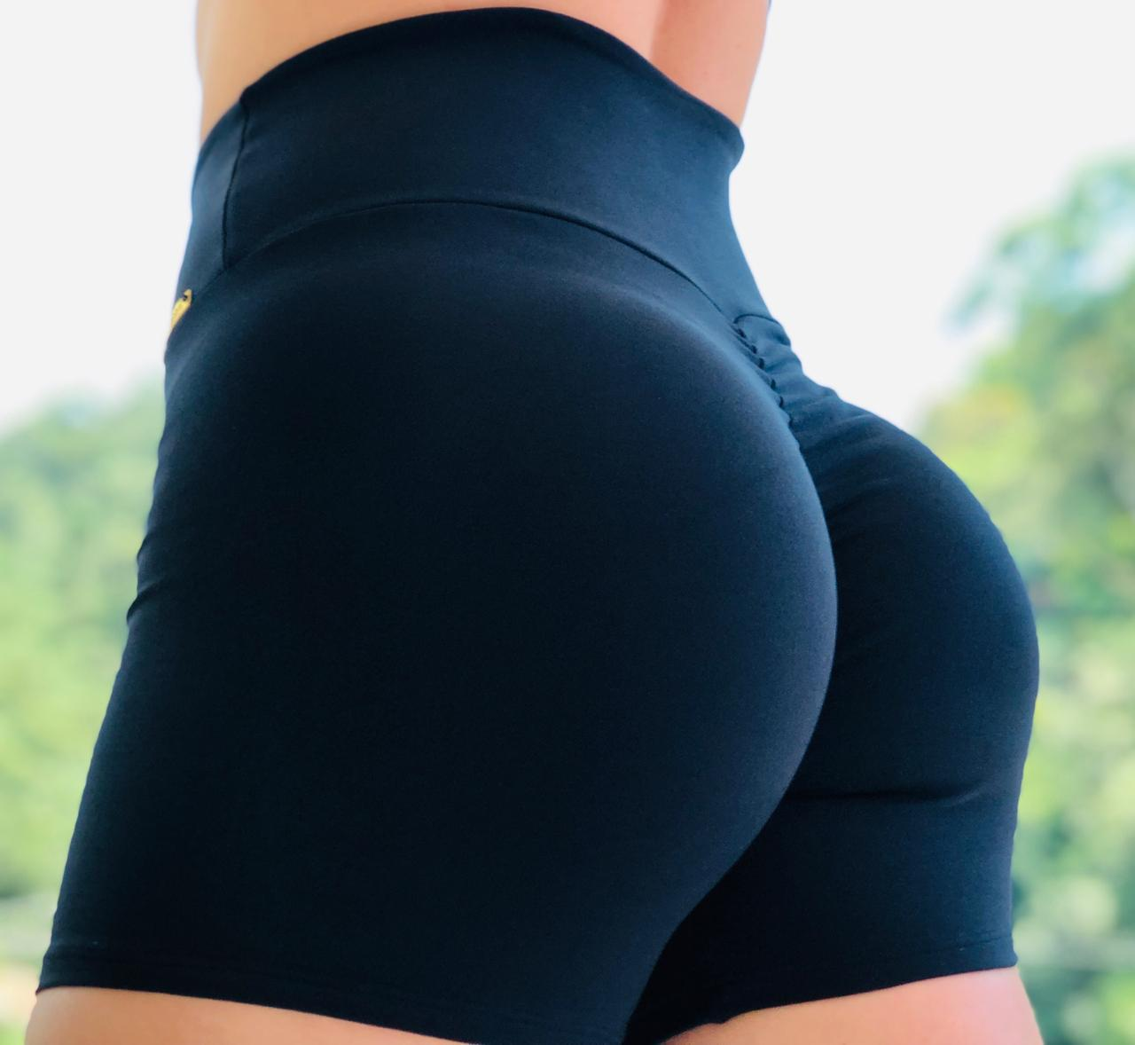 SHORTS BLACK ONE BUMBUM FRANZIR