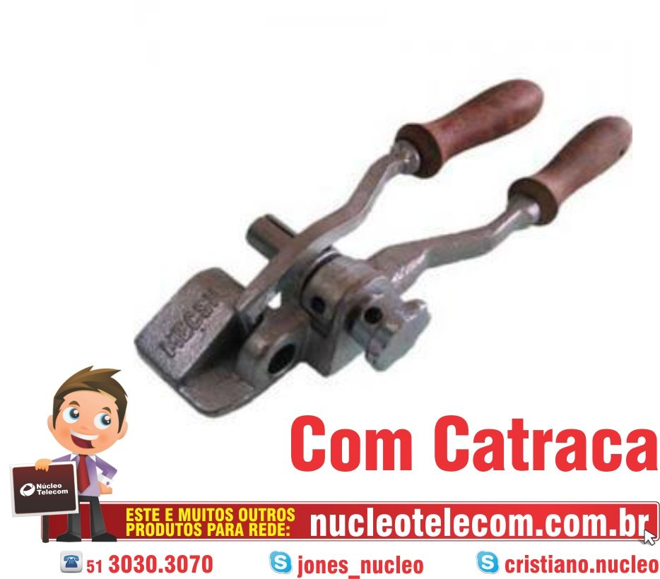 MÁQUINA DE CINTAR C/ CATRACA