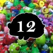 Monte Seu Kit De 12 Shopkins Avulsos Comuns Seção 1