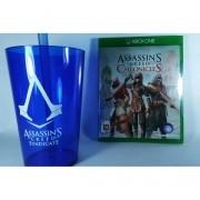 Assassin's Creed Chronicles Xbox One + Copo Exclusivo Lacrado