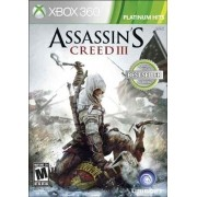 Assassin's Creed III Platinum Hits Xbox360 Original Usado