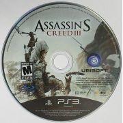 Assassin's Creed III Só a mídia Playstation 3 Original Usado