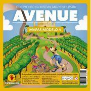 Avenue Expansão de jogo Bloco de Mapas Modelo A PaperGames A005