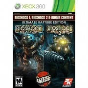 Bioshock 1 e 2 Ultimate Rapture Edition Xbox 360 Original Usado