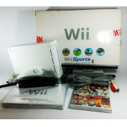Console Nintendo Wii 120V + Jogo + Mote Nunchuk Original Usado