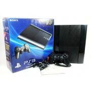 Console PS3 Super Slim 250GB bivolt Original Usado