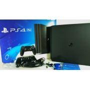 Console PS4 PRO 1TB 4K CUH 7015B Bivolt Usado Original