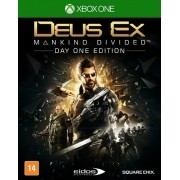 Deus EX Mankind Divided Day One Xbox One Original Usado