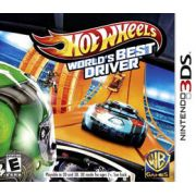 Hot Wheels Worlds Best Driver Nintendo 3DS Original Usado