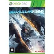 Metal Gear Rising Reveangence Xbox 360 Original Lacrado