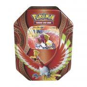 Pokemon Lata Poderes Misteriosos Ho-oh 1 Card Holográfico + 20 Cards Copag