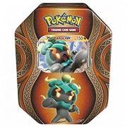Pokemon Lata Poderes Misteriosos Marshadow 1 Card Holográfico + 20 Cards Copag